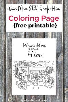 Wise Men Still Seek Him {Free Printable} a perfect Christ centered Christmas activity for the whole family. Quote Coloring Pages, Free Printable Coloring Pages, Free Printables, Christmas Colors, Diy Christmas Gifts, Family Christmas, Christmas Activities For Families, Letter Stencils, Christmas Coloring Pages