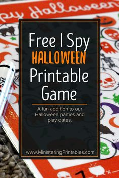 Kids love Halloween. The candy and costumes are so fun. Use this free I Spy Halloween printable game for play dates, parties, or just for fun! Download now! #Halloween #HalloweenGames #HalloweenPrintables #Primary #LDSprimary #Primary2021 #ISpyPrintables #ISpy Sunday Activities, Primary Activities, Halloween Printable, Halloween Games, Really Fun Games, Lds Blogs, I Spy Games, Party And Play, Hosting Thanksgiving