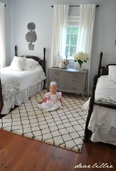 Dear Lillie: My Parent's Guest Bedroom
