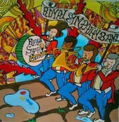 Mika - Royal Sympathy Band artwork from Life In Cartoon Motion
