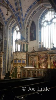 Chapel in Celle Castle, Germany