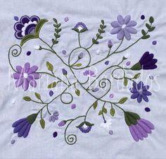 @mariana.bordados www.facebook.com/mariana.bordados1 Bordado a mano con lana