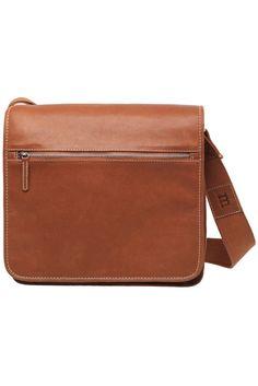 Olkalaukku Leather Bag Brown
