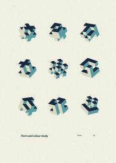 FYI Inspiration Monday Marius Roosendaal Form Study