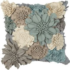 Ethan Allen Wildflower Pillow