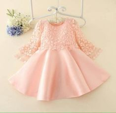Newborn Baby Princess Dress For Girls Clothes Long Sleeve Butterfly Kids Dresses Commodities Are Available Without Restriction Baby & Toddler Clothing