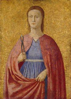piero della francesca, saint apollonia, 1454-1469.