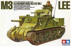 RealTS Tamiya model 35039 US Army Lee plastic model kit