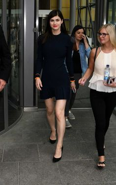 Alexandra Daddario - At Axel Springer Haus in Berlin on May 30