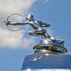 Several decades ago, car hood ornaments were more than just emblems identifying car manufacturers . . . they were adornments that made bold statements. How many do you recognize? via Hub Pages