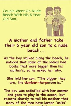damnfunnypost.com couple-on-the-beach-with-6yr-old-son-lol