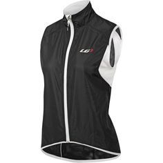 Louis Garneau Women's Nova Cycling Vest, Size: Small, Black