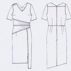 MERAKI Project Iceland // FW2015 // Volcano (dress)