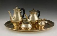 Italian Tea Set, 800 Silver The Estate of Mary L. Alchian of Palm Springs, CA | Kaminski Auctions 1/18/15