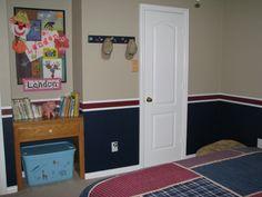 Boys Sports Room diy little boys sports room ideas | vintage big boys sports room