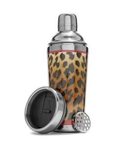 Mix it up this holiday season with our leopard print travel mug. Coffee tumbler converts to a shaker for perfect iced coffee. Give one to all the java lovers on your list.