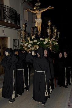 Procesión de la Hermandad del silencio de Calp, Semana Santa de Calpe 2013