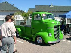 Vintage Dodge Truck Pickup Conversion by ATOMIC Hot Links, via Flickr