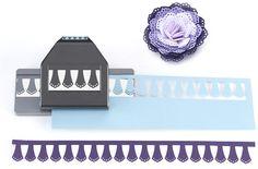 EK Success - Paper Shapers - Slim Profile - Large Edger Punch - Doily Petals at Scrapbook.com $18.69