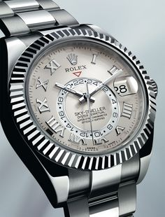 Wow, Rolex released a new men's time piece - Rolex Sky-Dweller