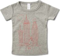 Frankie & Ava - Frankie's Pigeon In #NYC Graphic T
