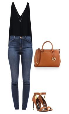 """""""L.A casual lunch"""" by marta-isabella ❤ liked on Polyvore featuring MICHAEL Michael Kors, STELLA McCARTNEY, J Brand, Tom Ford and Tiffany & Co."""