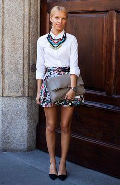 cool ESTILO | Street Style | Camisa Branca