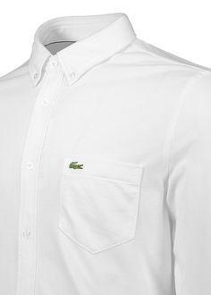 b2d03bedd Buy Pocket Shirt - White by Lacoste from our Triads Mens range - Black,  Logo - @ Triads Redesign