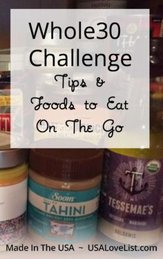 Whole 30 Challenge Tips | Whole 30 snacks | Organic snacks | Vegan snacks