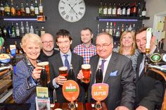 English Tourism Week 2015 is launched in Eden - with our very own beer - 'Drovers Gold'