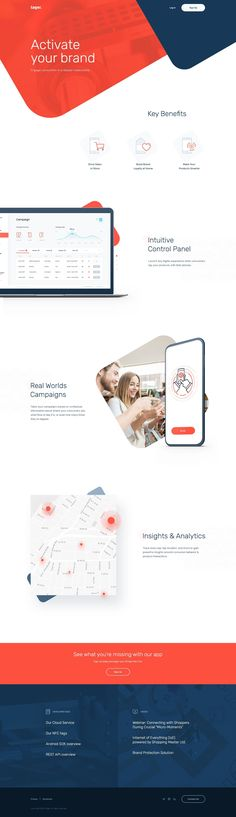 Tager homepage #ResponsiveWebDesign #MobileWebDesign