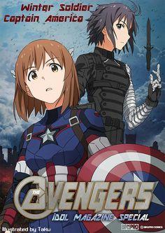 iDOLM@STER x Avengers