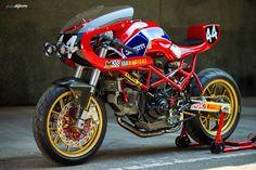 "Racing Cafè: Ducati ""Endurance"" by Radical Ducati"