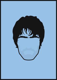 Liam Gallagher Minimalist Minimalism Art