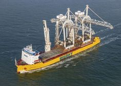 ALTIUS successfully completes the sea-transport of two STS Portcranes from Rotterdam (The Netherlands) to Vigo (Spain)