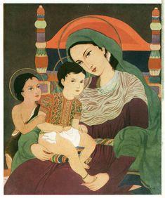 Mary and Child Jesus, India