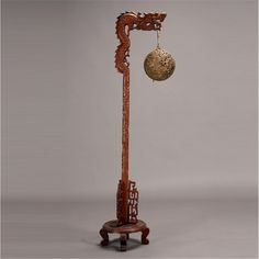 Carved Wood Chinese Dragon Floor Lamp ca. 1920   Chinese dragon ...