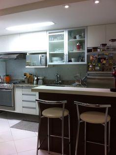 Cozinha americana; cozinhas pequenas small kitchen