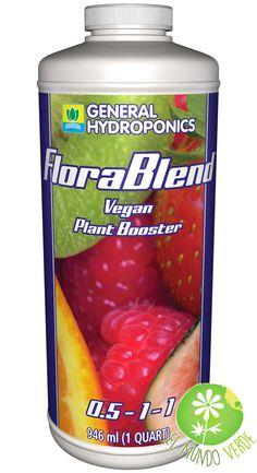 FloraBlend es un acelerador vegano para plantas que está formado por una mezcla exclusiva de materiales de plantas, más algas marinas, polvo de rocas y leonardita micronizada.  Visita nuestra página www.elmundoverde.mx
