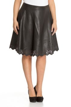 Moda Mix Caitlin Skirt in Black - Beyond the Rack