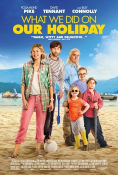 USA: First Look At The Poster For What We Did On Our Holiday - Opening In July The hilarious feature film What We Did On Our Holiday will open for a limited release in theaters in the USA on July 10th. The black comedy stars David Tennant and Rosamund Pike as a battling couple on a fraught trip to Scotland with their children in tow and a big secret to keep. The film was written and directed by Andy Hamilton and Guy Jenkin, the creators of the award-winning UK sitcom Outnumbered.  The film…