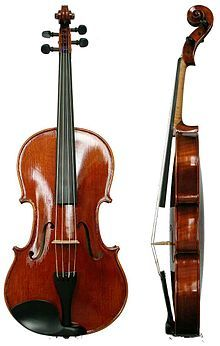 A viola is slightly larger than a violin and has a deeper sound. I think a lot of people viewing the Viola Riot website would get the two confused. Not sure how to combat that just yet. Antonio Stradivari, Violin Instrument, Cello, Alto Voice, Violin Family, Master And Commander, Violin Lessons, Lessons For Kids, My Favorite Music