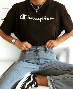 #falloutfitsformoms Back School Outfits, Outfits For Teens For School, Lazy Day Outfits, Mom Outfits, Casual Fall Outfits, Cute Summer Outfits, Grunge Outfits, Stylish Outfits, Skater Outfits