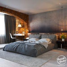 False Ceiling Bedroom Wallpapers false ceiling design for balcony. Design Loft, House Design, Modern Design, Master Bedroom Design, Home Bedroom, Contemporary Bedroom, Modern Bedroom, Loft Stil, Rustic Bedroom Furniture