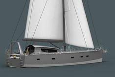 20m Custom Aluminium High Latitude Expedition and Blue Water Cruising Yacht : Owen Clarke Design - Yacht Design and Naval Architects