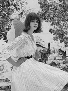 1962  Jean Shrimpton by John French