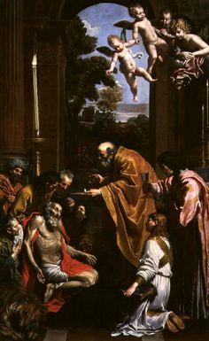 Domenichino - La última comunión de San Jerónimo