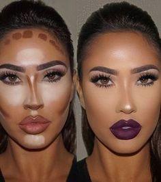 2016: le contouring était toujours bien présent dans notre routine maquillage.