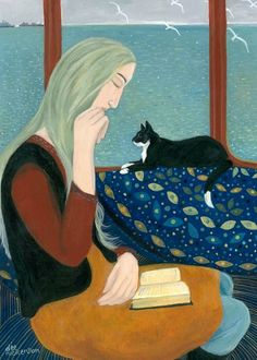 In the Window Seat by Dee Nickerson