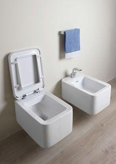 WC seat for Flaminia Vase Sprint White